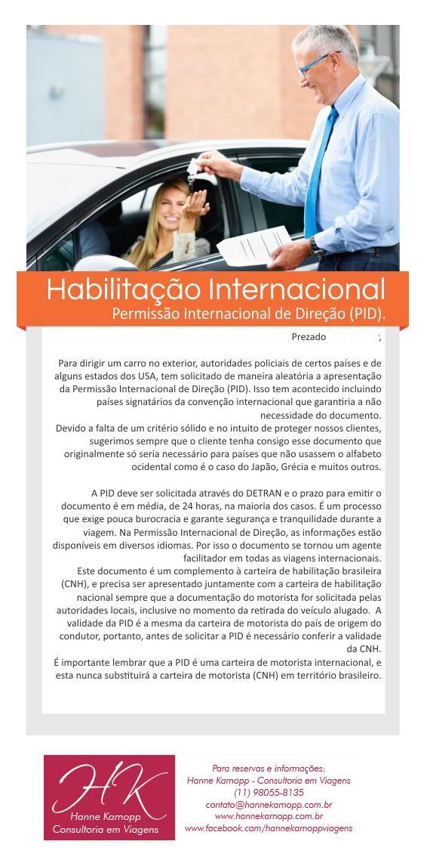 Habilitaçao internacional